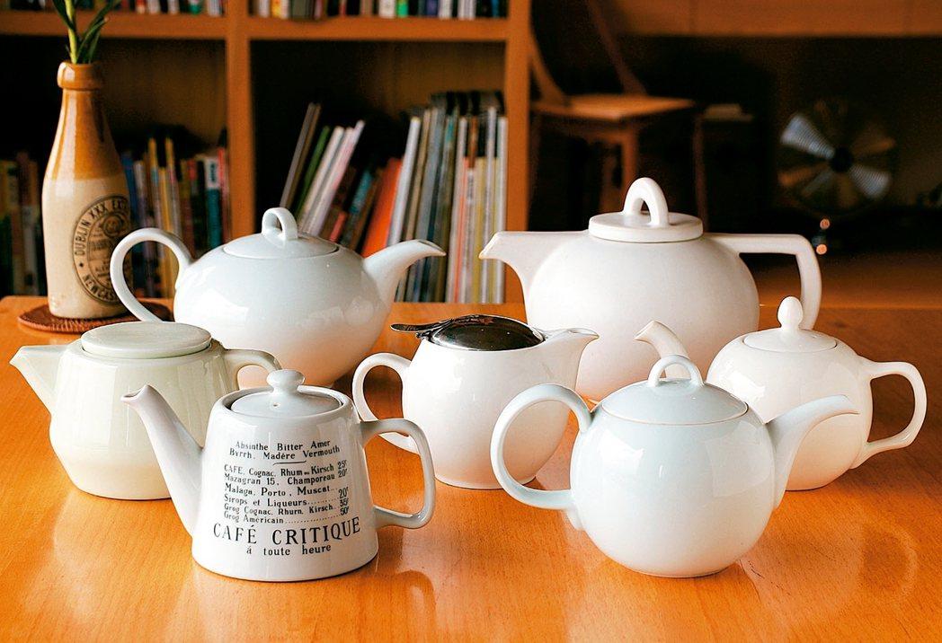 身為愛茶人,對於茶壺的形式機能與實用上手程度,不免多有執著。 圖/葉怡蘭提供