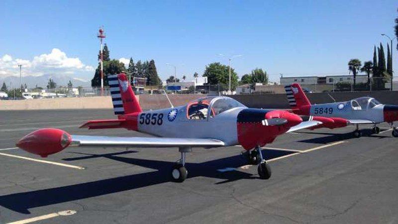 14日出事、編號5858的美造PL-2小飛機,機主應姓華僑將其漆上青天白日滿地紅...