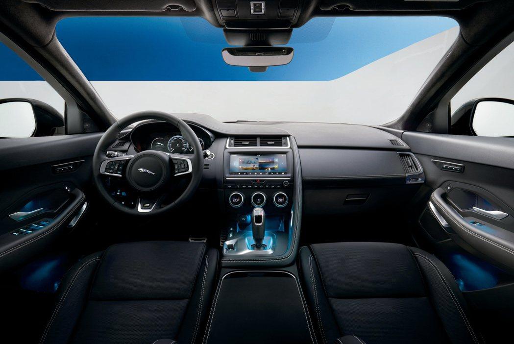 Jaguar E-Pace。圖/Jaguar提供