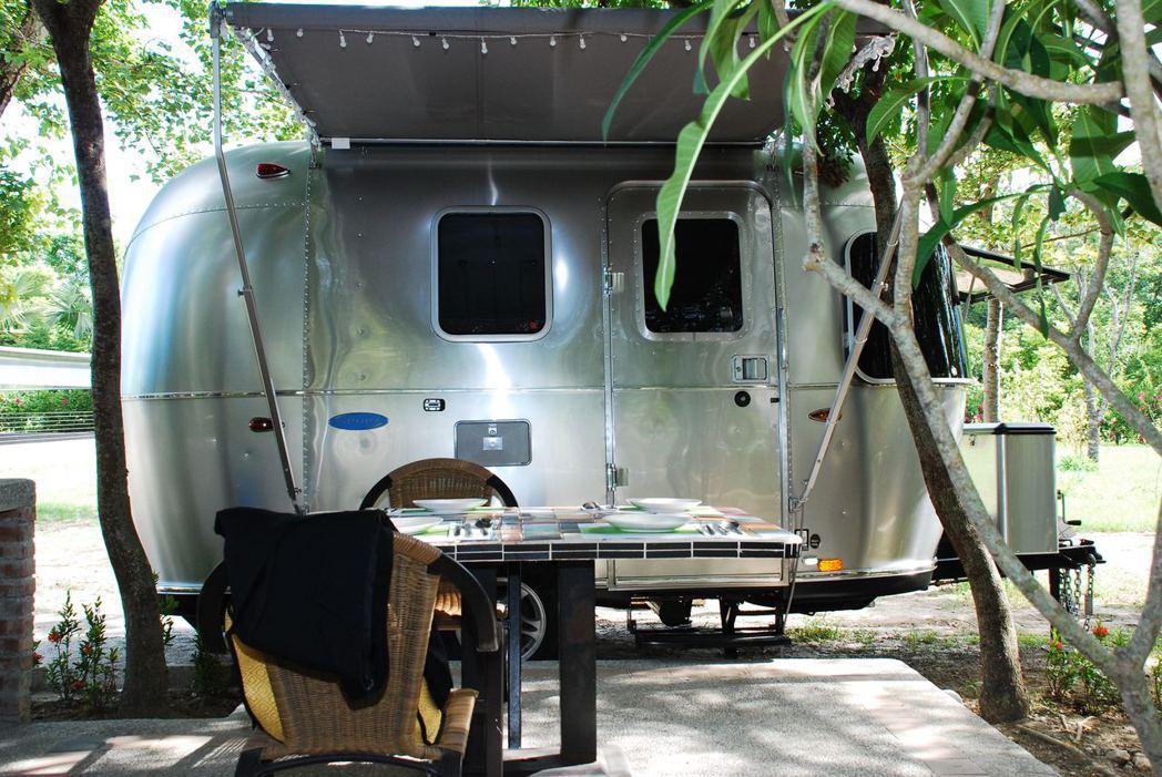 Airstream 露營車。記者林昱丞/攝影