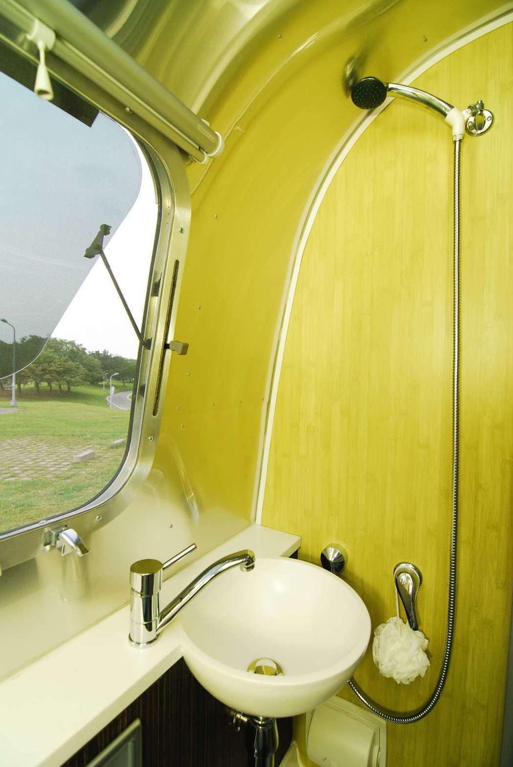 Airstream International 534露營車。資料畫面。記者林昱...