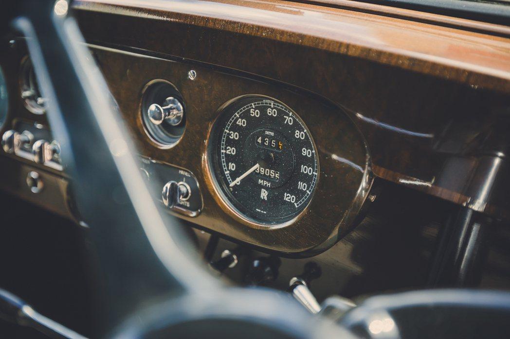 約翰藍儂的Rolls-Royce Phantom V。圖/Rolls-Royce...