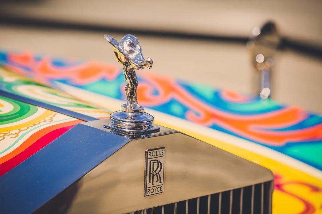 約翰藍儂的Rolls-Royce Phantom V。圖/Rolls-Royce