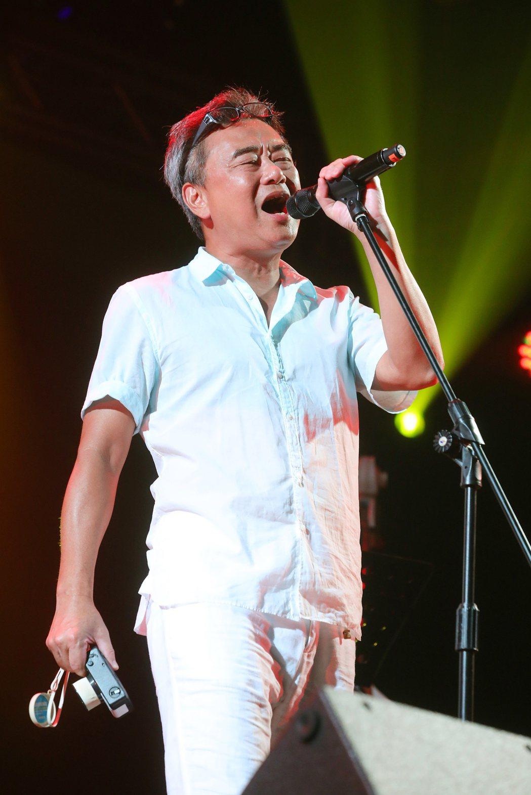 陳昇周五晚開唱。圖/新樂園製作提供