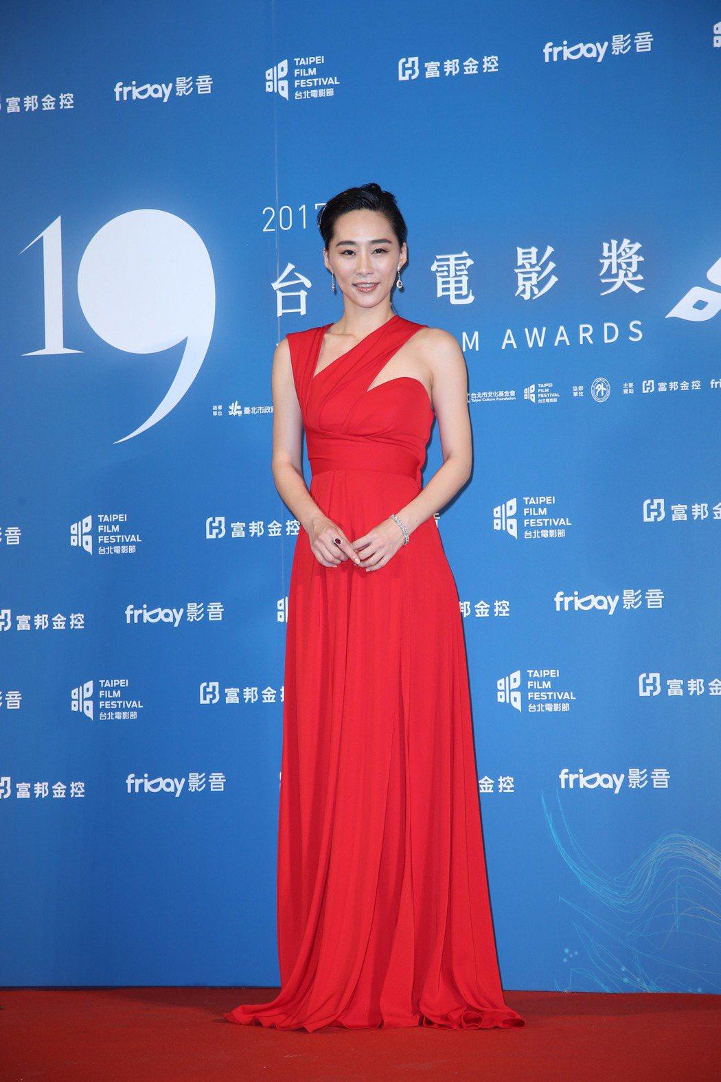 再見瓦城演員吳可熙出席台北電影節頒獎典禮。記者陳瑞源/攝影