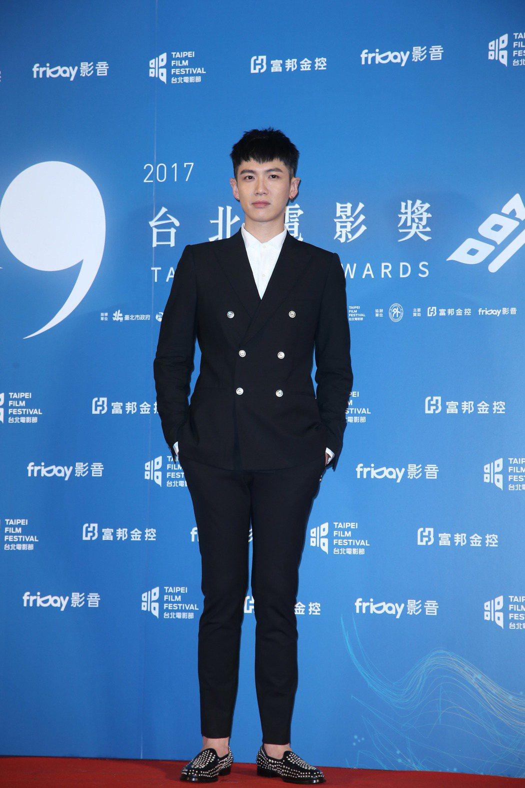 再見瓦城演員柯震東出席台北電影節頒獎典禮。記者陳瑞源/攝影