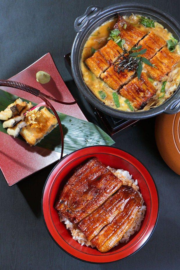 台北老爺中山廳夏日主打鰻魚料理。圖/台北老爺酒店提供
