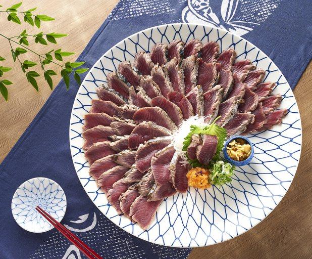 沖繩夏日的鰹魚料理也走進台灣。圖/欣葉提供