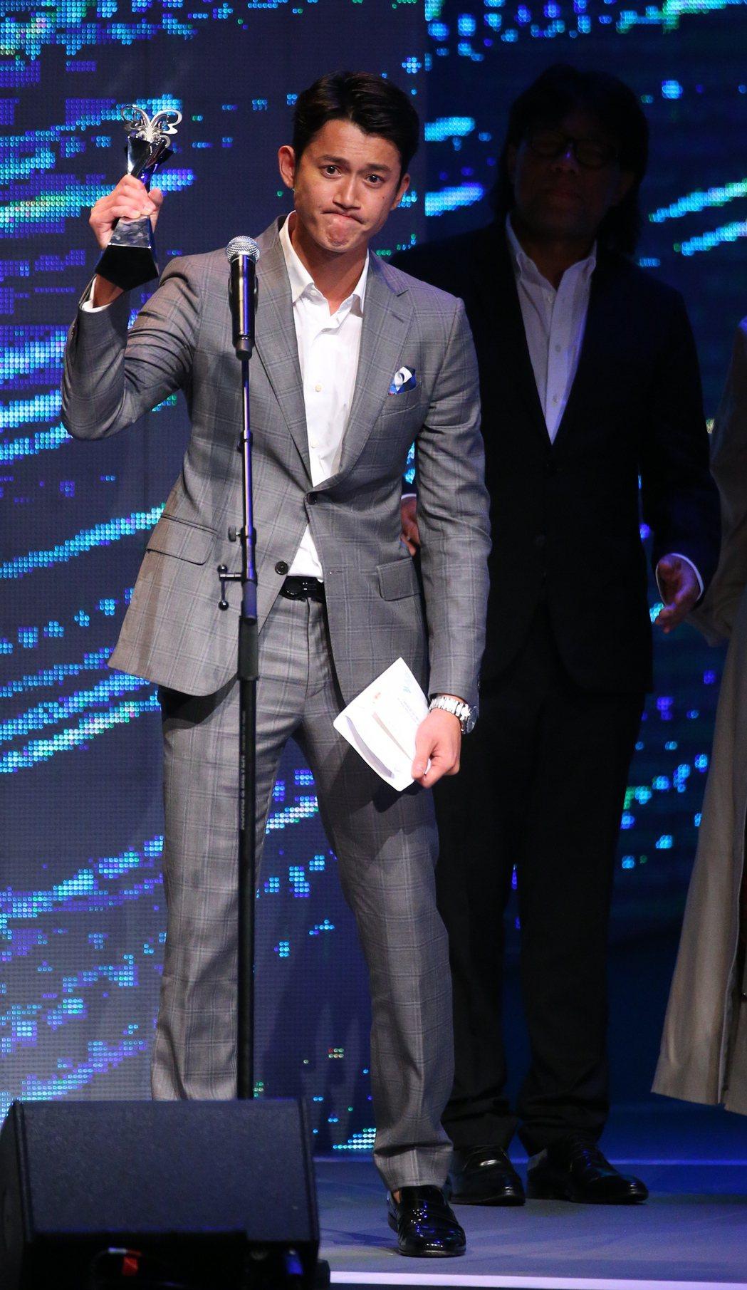 台北電影節最佳男主角獎由吳慷仁獲得。記者王騰毅/攝影