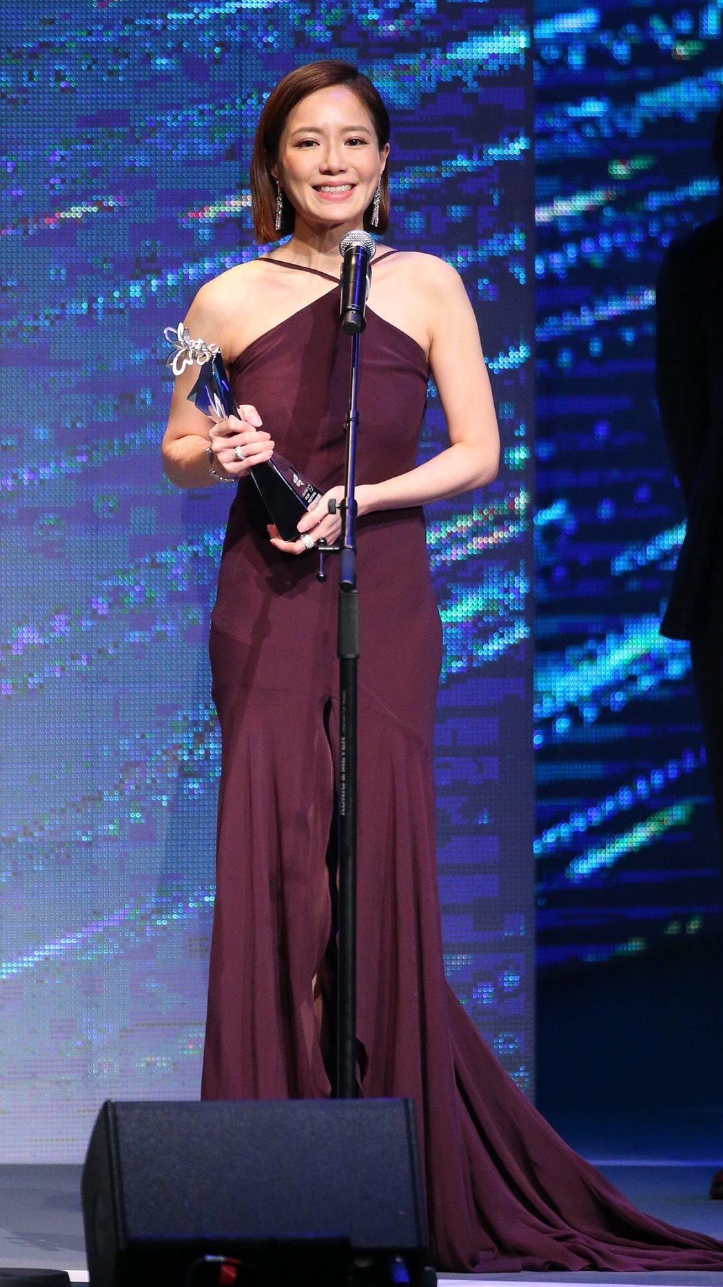 台北電影節最佳女主角獎由尹馨獲得。記者王騰毅/攝影