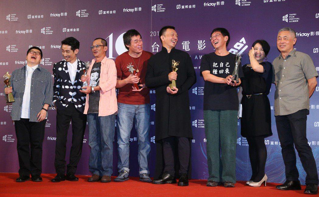 大佛普拉斯獲台北電影節百萬首獎及最佳劇情長片等五項大獎。記者王騰毅/攝影