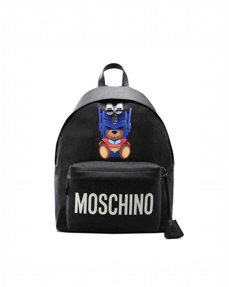 變形金剛小熊後背包,39,800元。圖/MOSCHINO提供