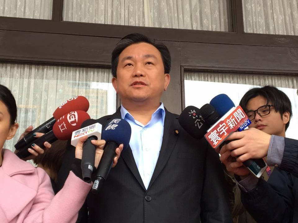 民進黨立委王定宇說,台南市按照人口的比例早該多一席。 圖/報系資料照