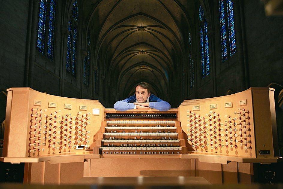 管風琴家拉特利。 瞧橋藝術/提供