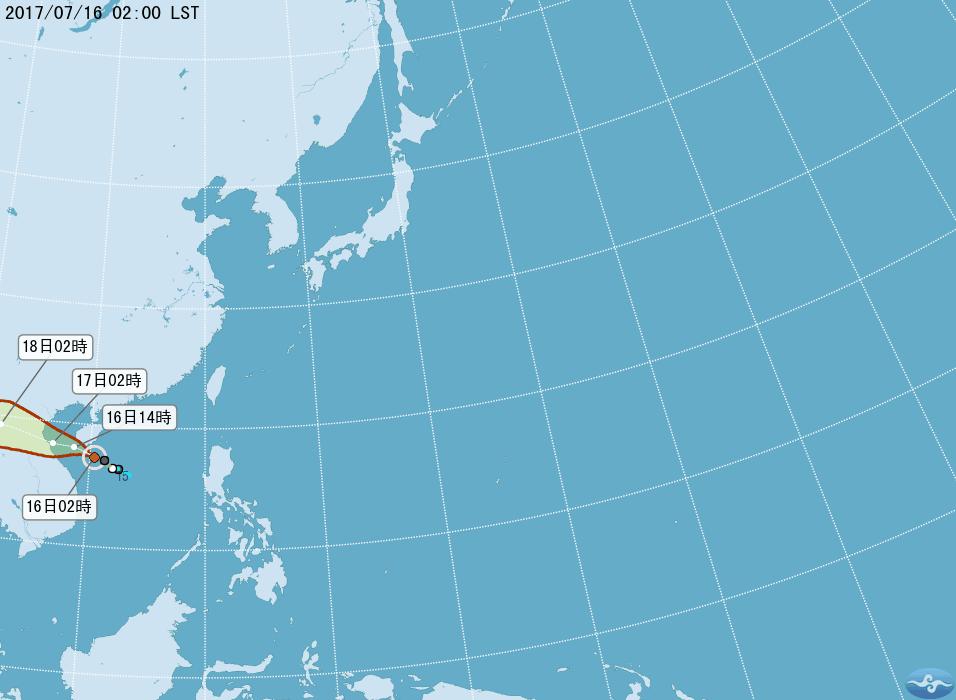 吳德榮說,輕颱塔拉斯今天將通過海南島南方近海,再偏西往越南北部前進,漸行漸遠,對...