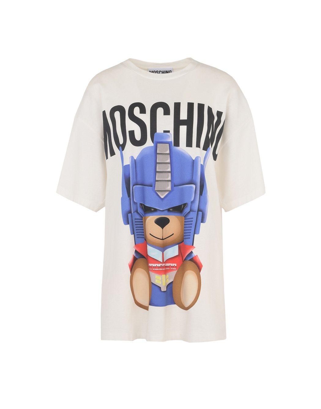 變形金剛小熊T恤,8,800元。圖/MOSCHINO提供