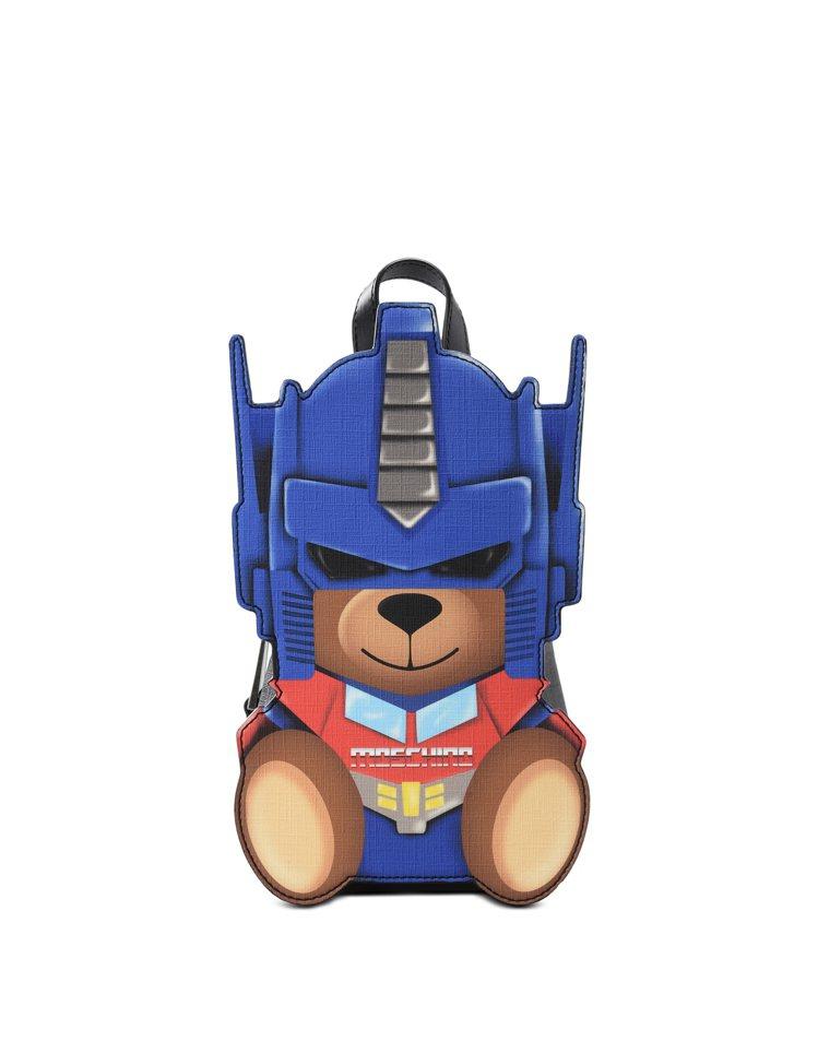 變形金剛小熊造型包,36,500元。圖/MOSCHINO提供