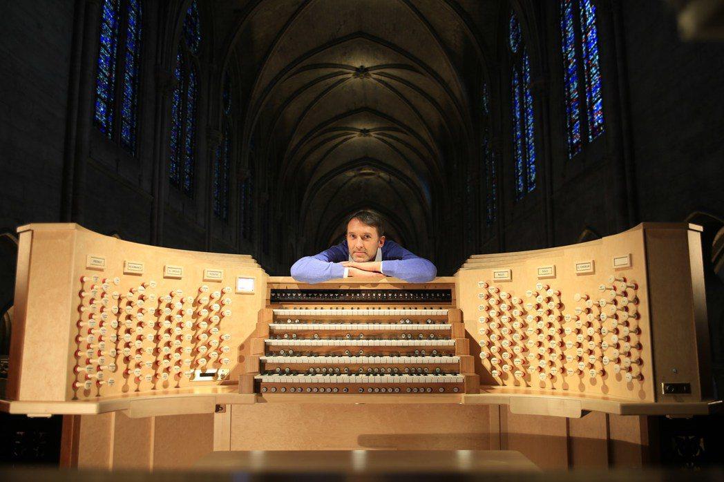 管風琴家拉特利。圖/瞧橋藝術提供