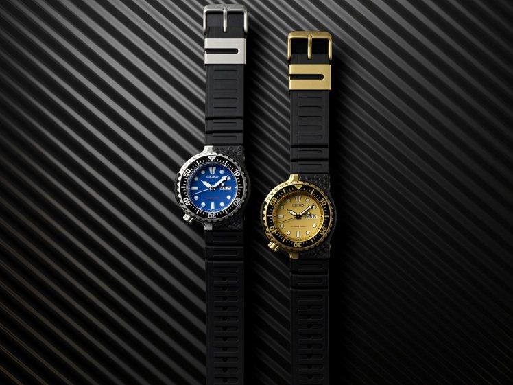 SEIKO與Giugiaro Design攜手合作,推出兩個不同色系的Prosp...