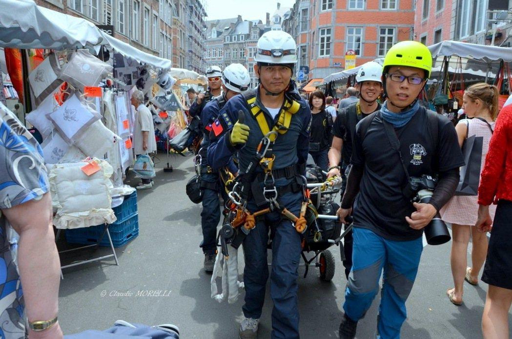 台灣台南隊連續3年自費、自假參加GRIMPDAY 國際繩索救援競賽,今年奪得佳績...
