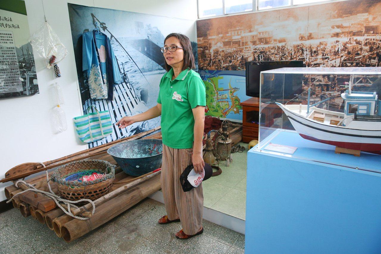 南方澳討海文物館內有豐富的討海文化介紹。記者王騰毅/攝影