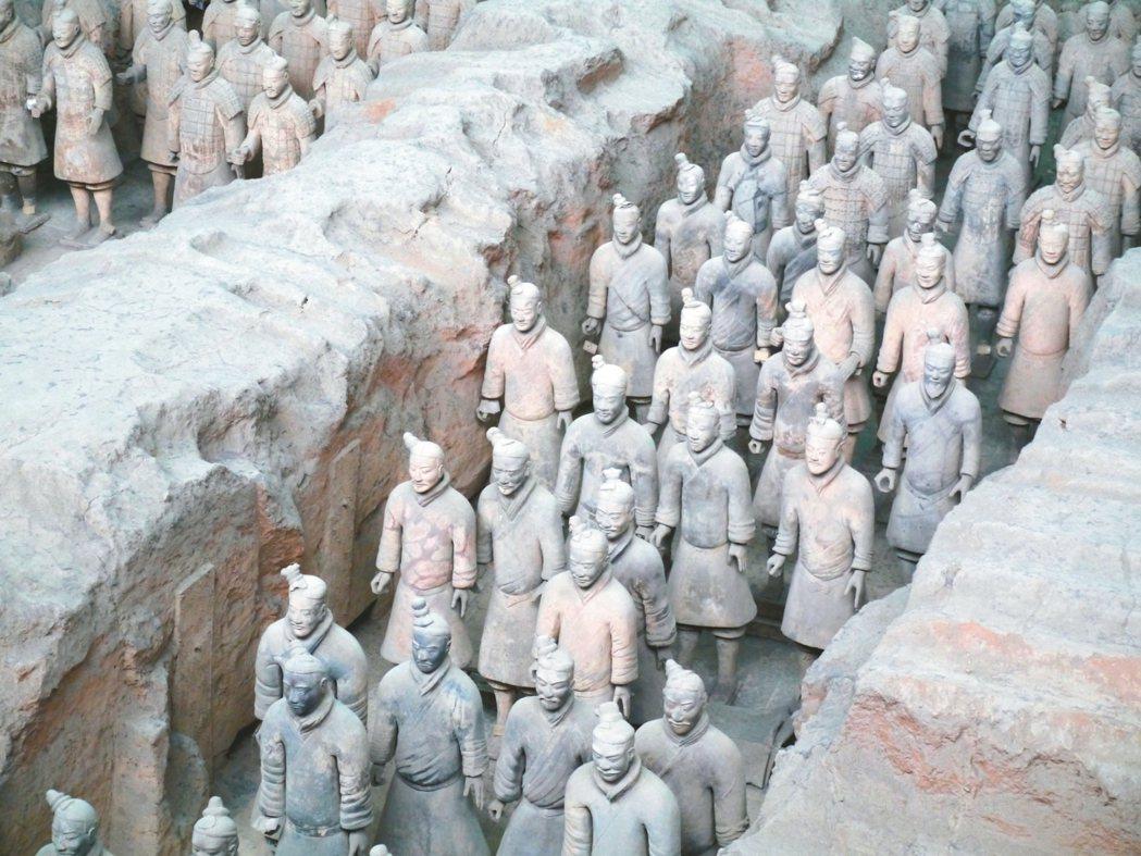 兵馬俑博物館是西安必遊之地。 記者羅建怡/攝影