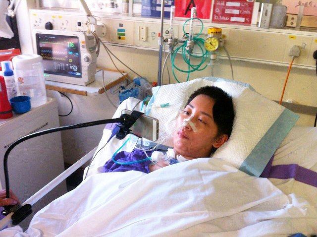 鳳凰衛視女主播劉珊玲因腦動脈血管瘤破裂,突然在住家昏倒送醫急救,差點成為植物人,...