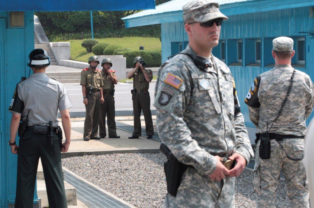 南韓國防部今表示,為中止在南北韓軍事分界線一帶的敵對行為,南韓今向北韓提議於21...