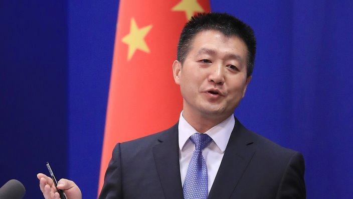 中國大陸外交部發言人陸慷。圖/路透社