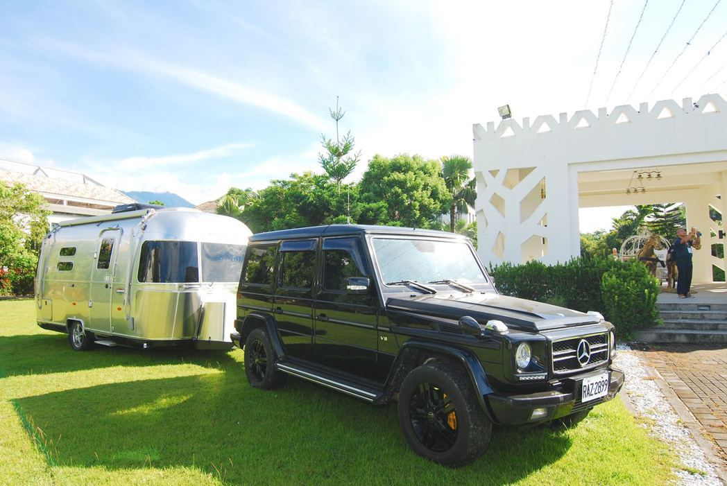 G550搭配Airstream International 534。記者林昱丞/...