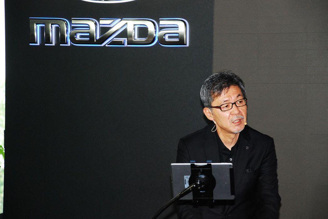 馬自達設計本部常務執行役員前田育男。記者林昱丞/攝影