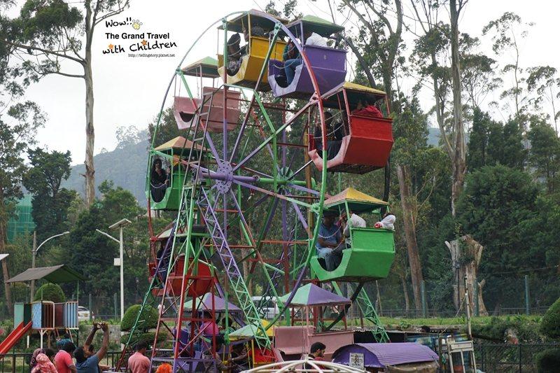 在維多利亞公園中的小型摩天輪 (攝影:吳成夫Bruce Wu)
