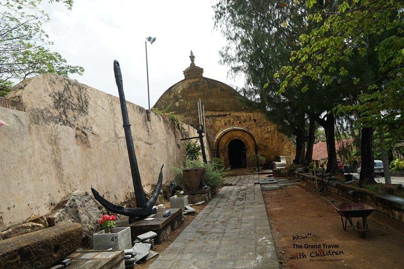 舊倉庫改建而成的海事博物館入口處(攝影:吳成夫Bruce Wu)