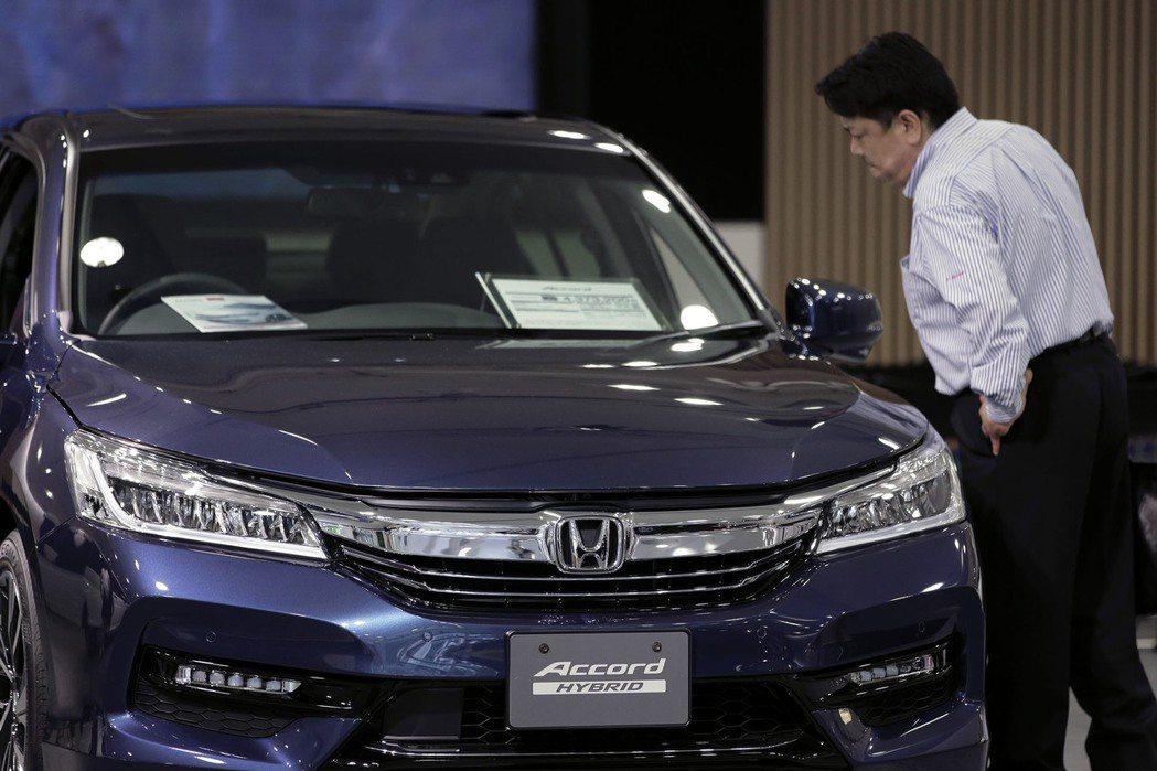 Honda宣布將召回115萬輛北美Accord。 摘自Bloomberg