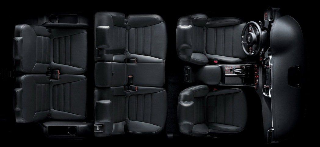 KIA Sorento強調正七人座,第三排座椅為標配。 圖/森那美起亞提供