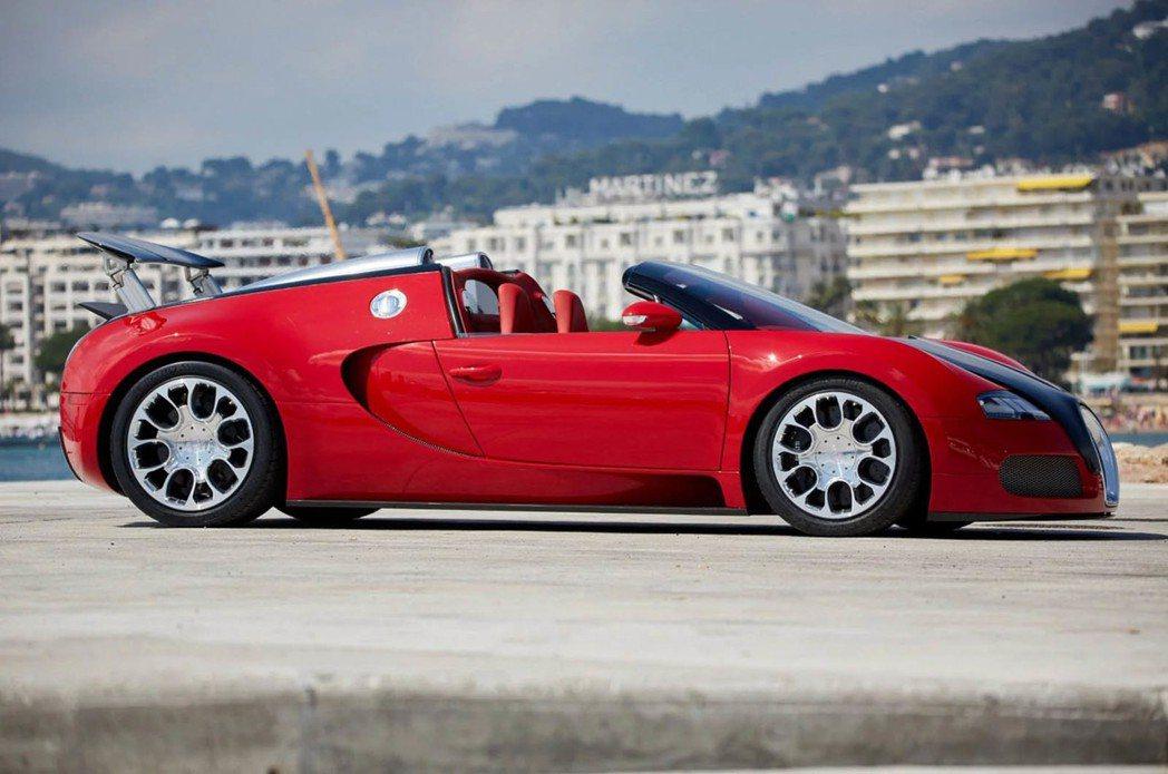 Bugatti Veyron Grand Sport。圖/摘自carscoops...