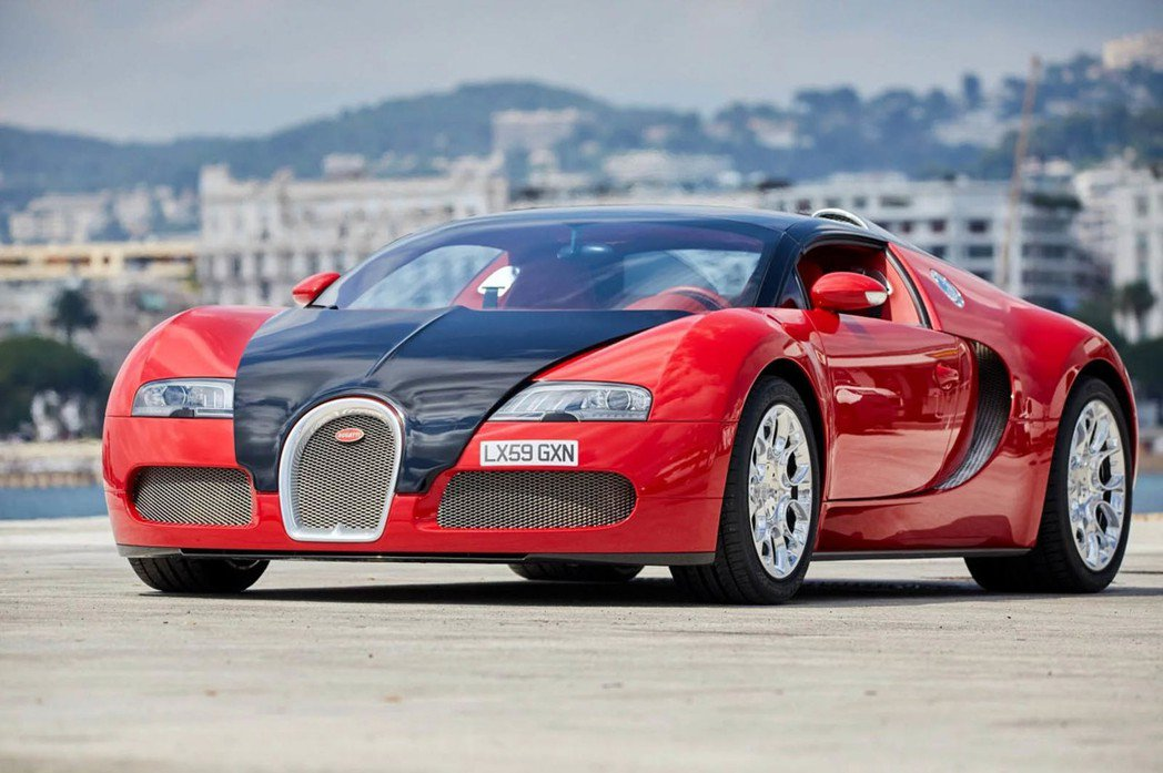 Bugatti Veyron Grand Sport。圖/摘自carscoops.com