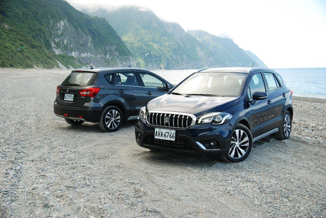Taiwan Suzuki 目前也有推出 SX4 購車優惠,於 8 月 31 日前購車領牌,即可獲贈 SX4 專屬門檻飾板。 記者林鼎智/攝影