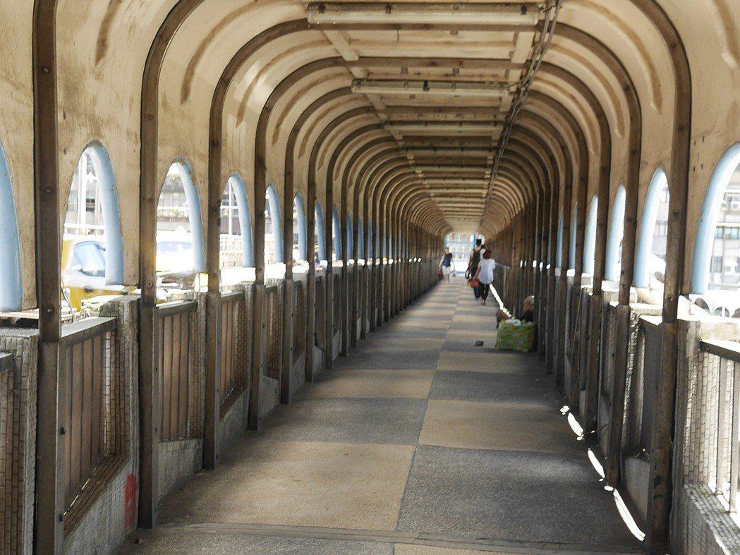 那夢境般的長廊,要拆了。記者吳淑君/攝影