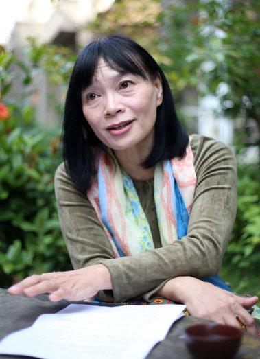 楊翠是作家楊逵最鍾愛的孫女。本報資料照片/記者許正宏攝影