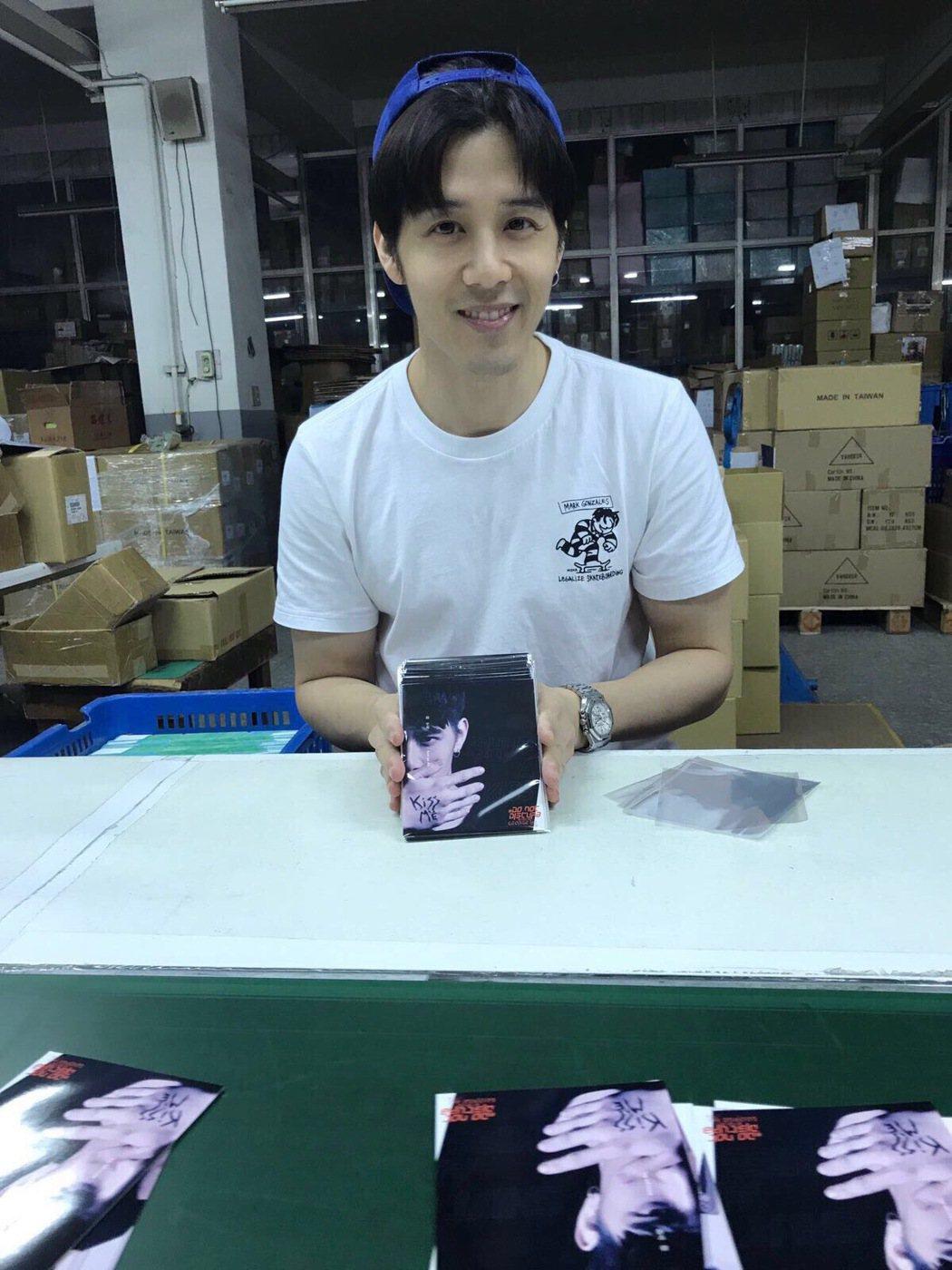 胡宇威即將發行新EP。圖/寶麗來國際娛樂提供