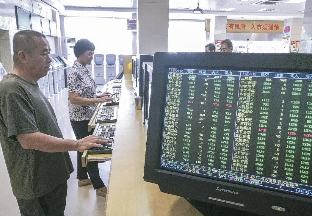 陸股昨(17)日放量大跌,上證綜指收盤下跌1.43%,創業板指數跌幅更達5.11...