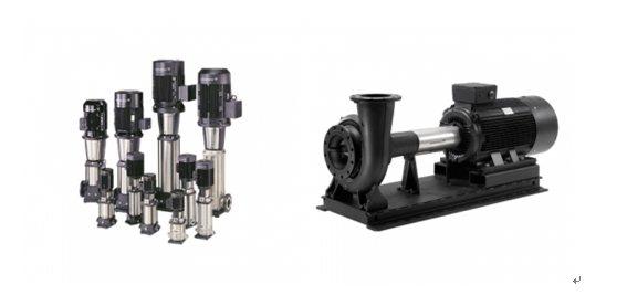 立式離心式泵臥式同軸式泵。 圖/鈞能提供