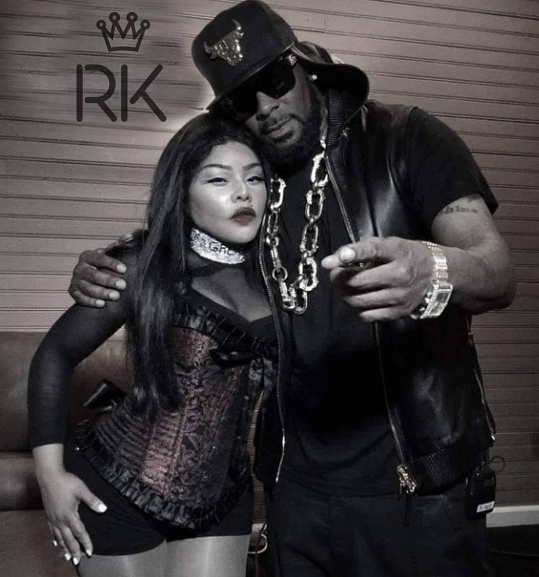 R&B歌手R. Kelly(右)。 圖/擷自IG