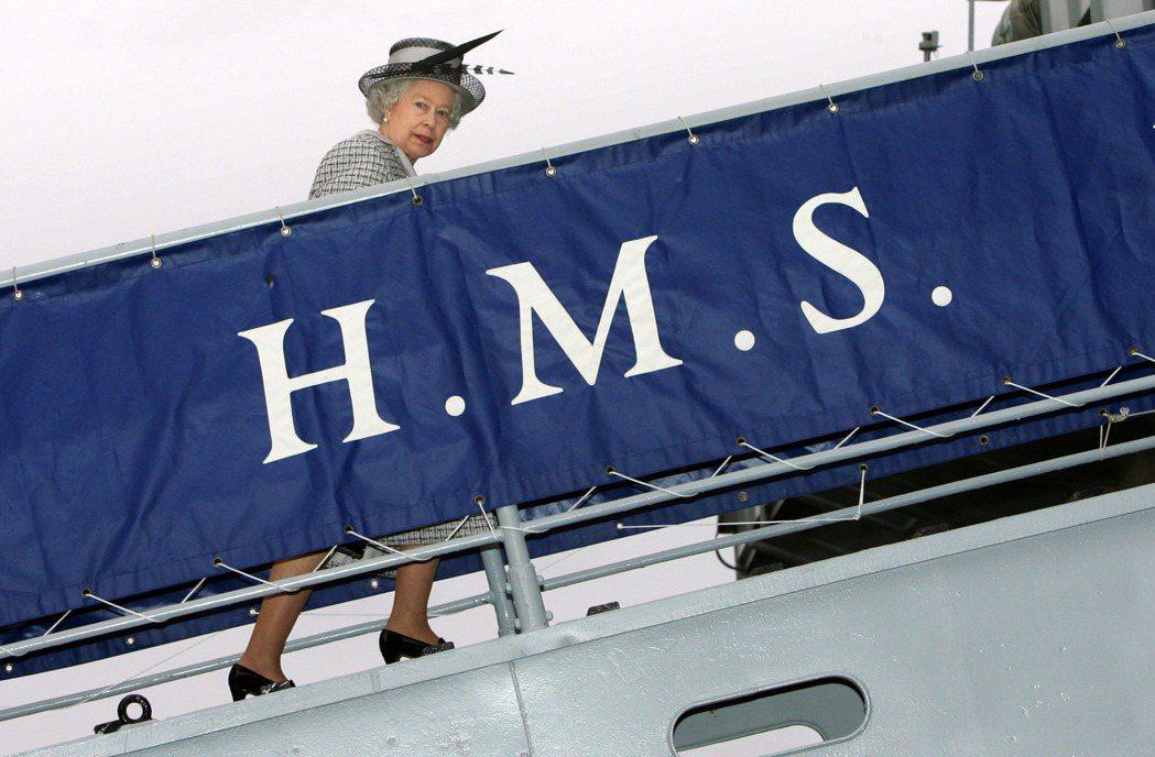 在以英國女王伊莉莎白二世命名的「伊莉莎白女王二世號」(HMS Queen Eli...