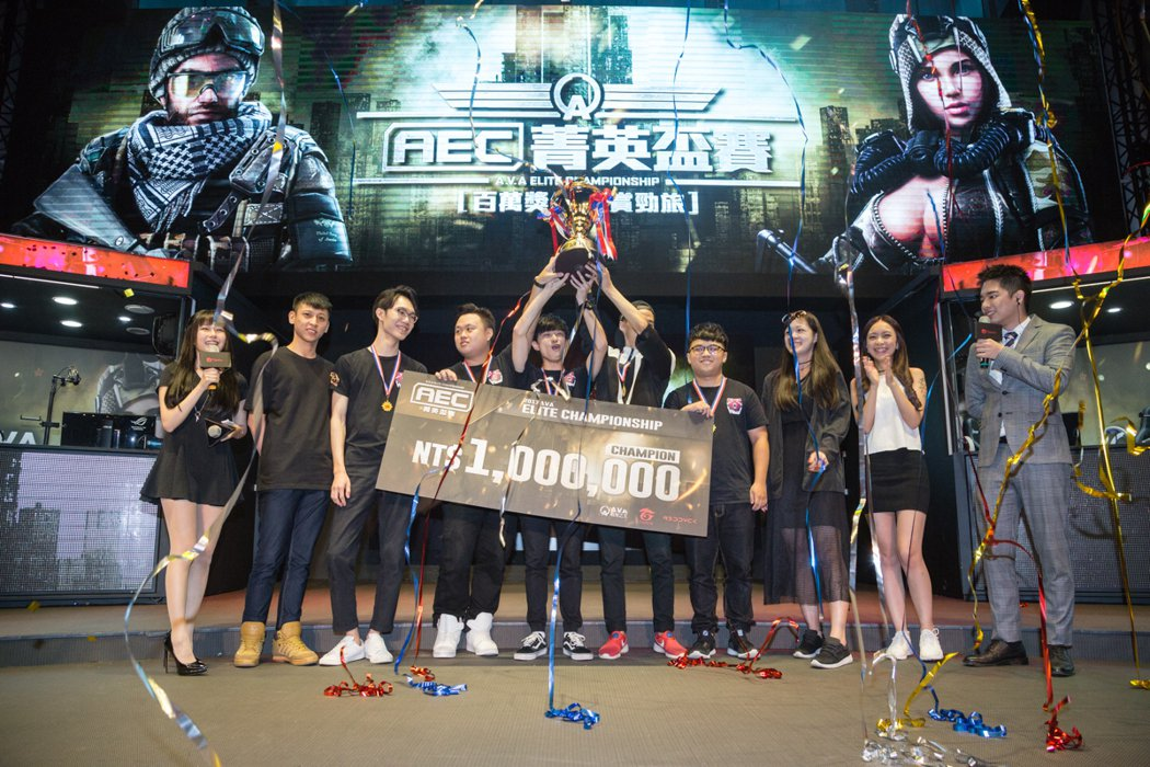 《A.V.A 戰地之王》2017 AEC菁英盃賽由「HowL」直落三奪得冠軍金盃...