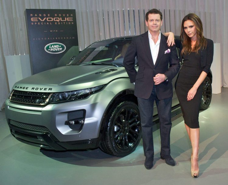 汽車品牌Land Rover的設計總監Jerry McGovern(左)。圖/擷...