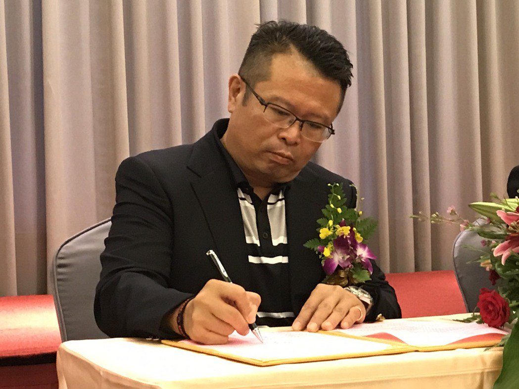 全國花園球場總經理吳憲紘是台灣高球界的重要推手。 陳志光/攝影