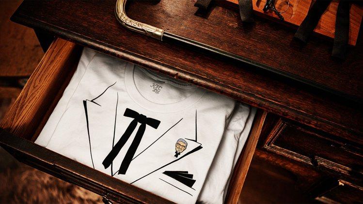 肯德基以漢堡、炸雞和桑德斯上校為靈感,設計出一系列限量服飾。圖/摘自www.kf...