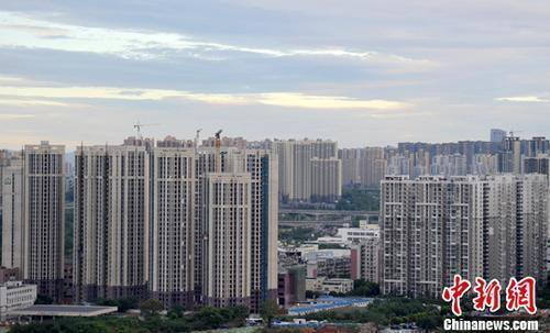 70個大中城市中,一二線城市房價漲幅連續回落。中新網